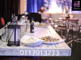 Indaba Hotel - Champagne Tasting - Vintage Display Items