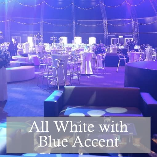 Black and Gold Table Hire