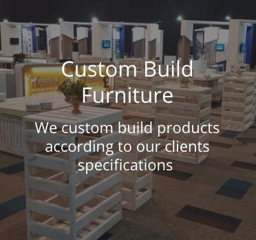 custom built furniture for weddings