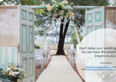 Garden Wedding decor by SA Wedding Decor 1