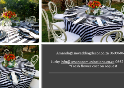 Garden Wedding decor by SA Wedding Decor 10