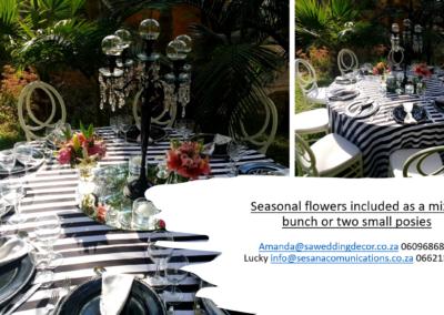 Garden Wedding decor by SA Wedding Decor 11