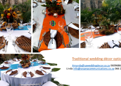 Garden Wedding decor by SA Wedding Decor 12