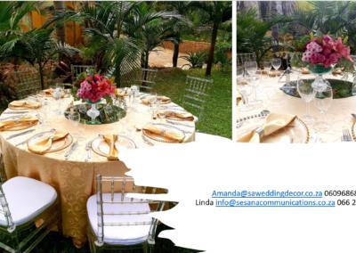 Garden Wedding decor by SA Wedding Decor 13