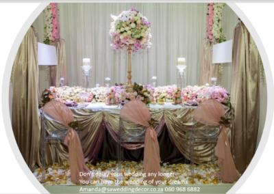 Garden Wedding decor by SA Wedding Decor 18