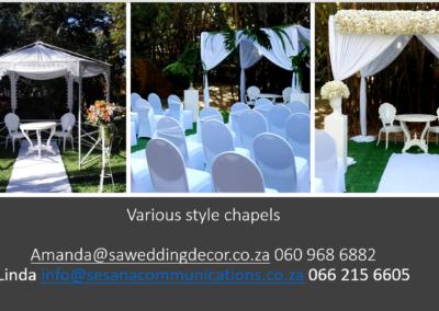 Garden Wedding decor by SA Wedding Decor 5