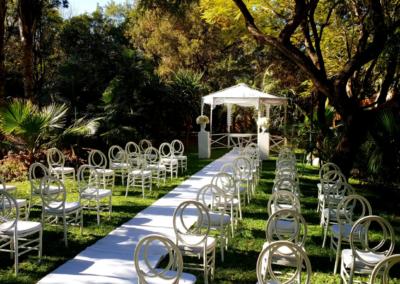 Garden Wedding decor by SA Wedding Decor 6
