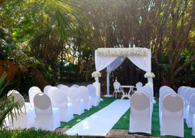 Garden Wedding decor by SA Wedding Decor 7