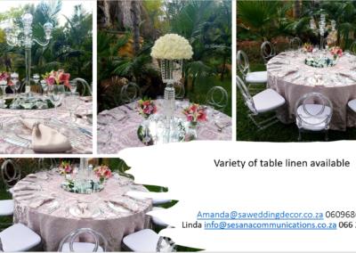 Garden Wedding decor by SA Wedding Decor 9